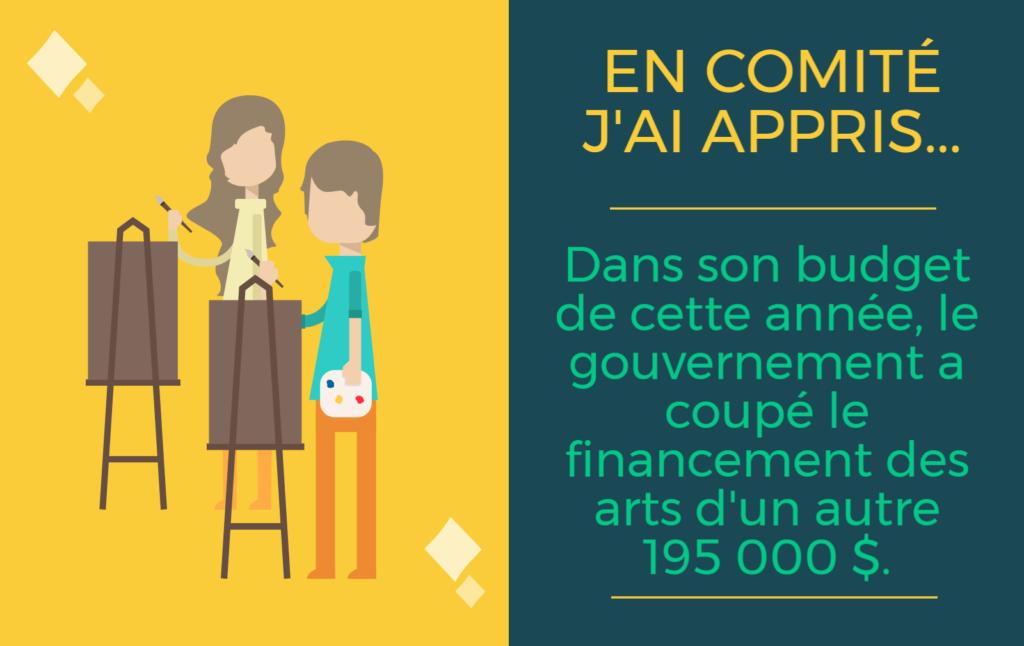 arts funding fr