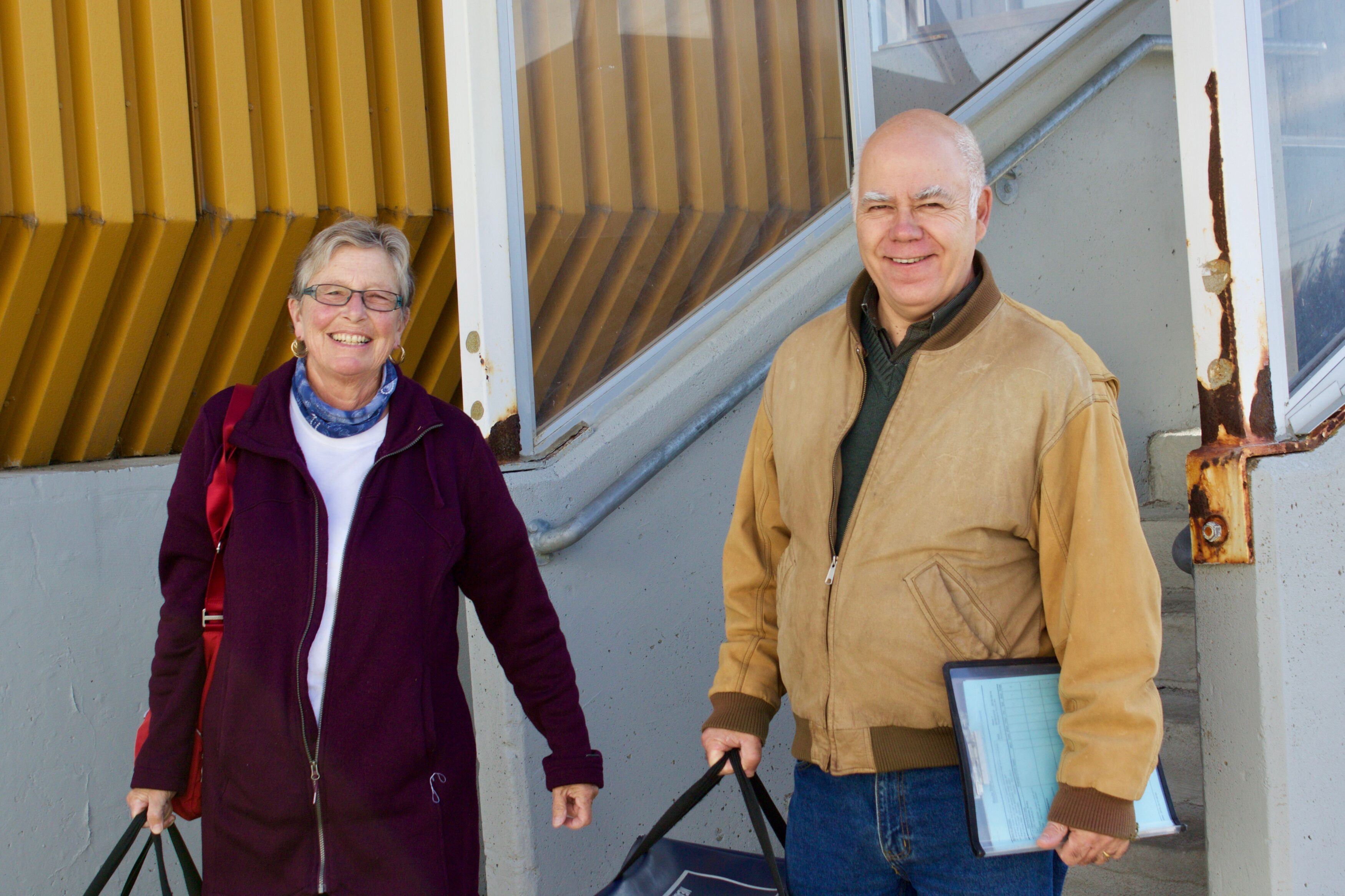 Meals on Wheels, brought to your door by your MLA