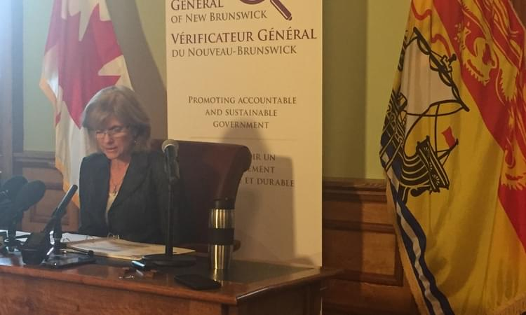 N.B. editorial: Take auditor general's findings to heart – Telegraph-Journal – 22 June 2017