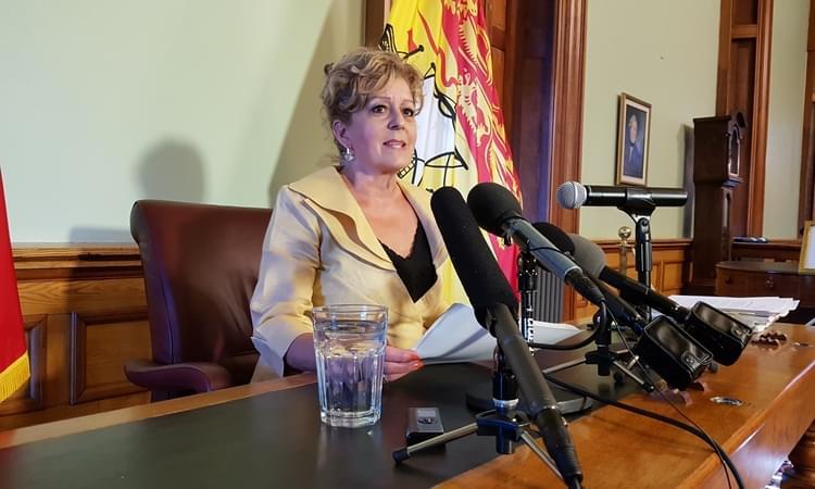 New Brunswick Commissioner of Official Languages Katherine d'Entremont. Photo: John Chilibeck/Legislature Bureau