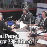 Political Panel. CBC – 23 February, 2017
