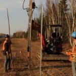 (Français) Fredericton n'installera pas de nouvelles clôtures à orignaux – Acadie Nouvelle – Novembre 9 2017