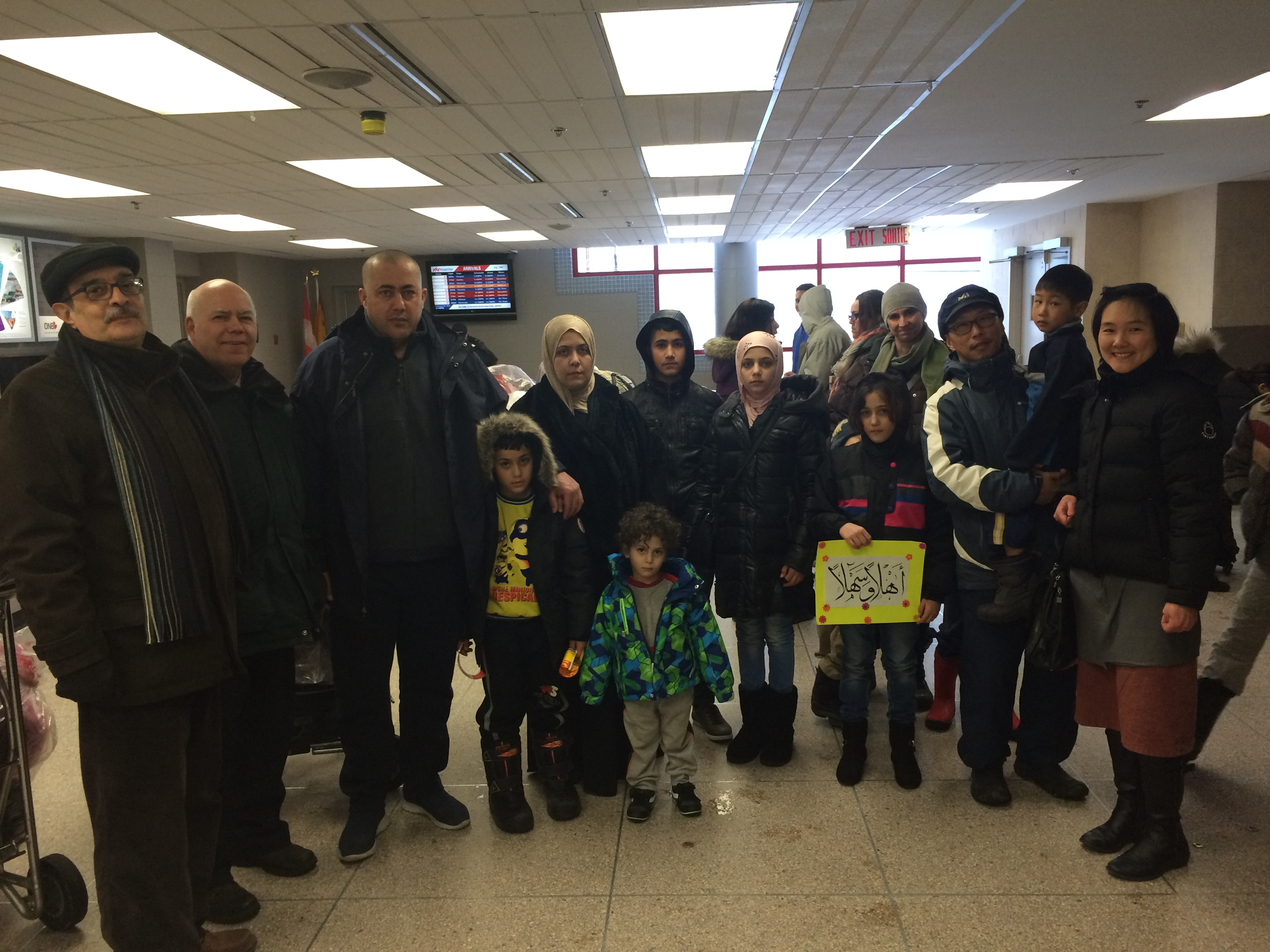 Meeting with the Syrian Newcomers – Winter 2018